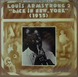"LOUIS ARMSTRONG 2 ""BACK IN NEW YORK"""