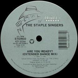 画像1: THE STAPLE SINGERS/ARE YOU READY?