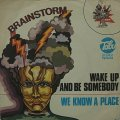 BRAINSTORM/WAKE UP AND BE SOMEBODY