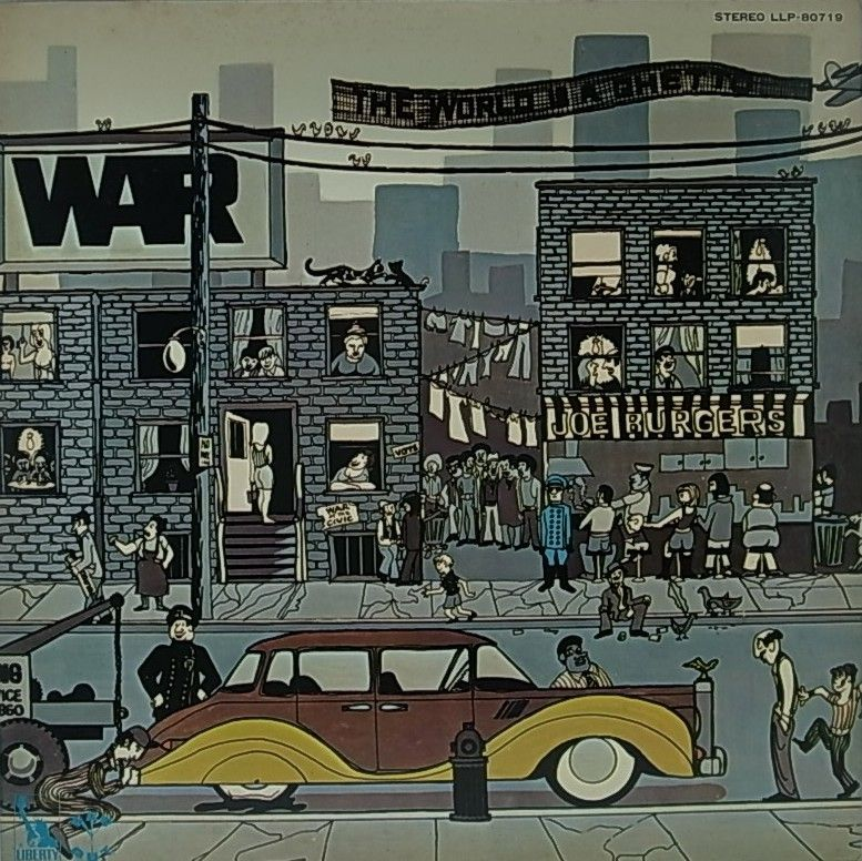 WAR/THE WORLD IS A GHETTO