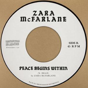 ZARA McFARLANE/PEACE BEGINS WITHIN