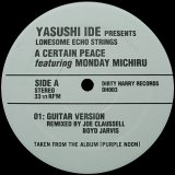 YASUSHI IDE PRESENTS LONESOME ECHO STRINGS/A CERTAIN PEACE