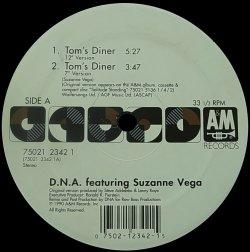 画像1: D.N.A feat. SUZANNE VEGA/TOM'S DINER