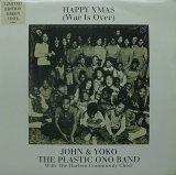JOHN & YOKO THE PLASTIC ONO BAND/HAPPY XMAS