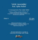 VICK LAVENDER/CONSEQUENCIES EP (FEAT SPIKE REBEL)