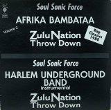 AFRICA BAMBAATAA/ZULU NATION THROW DOWN