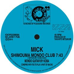 画像1: MICK/FUNNY&TUTTI/SHIMOUMA MONDO CLUB/BAKURO HILLS JOCKEY CLUB