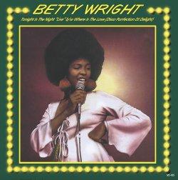画像1: BETTY WRIGHT/TONIGHT IS THE NIGHT (LIVE)
