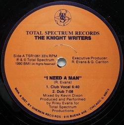 画像1: THE KNIGHT WRITERS/I NEED A MAN